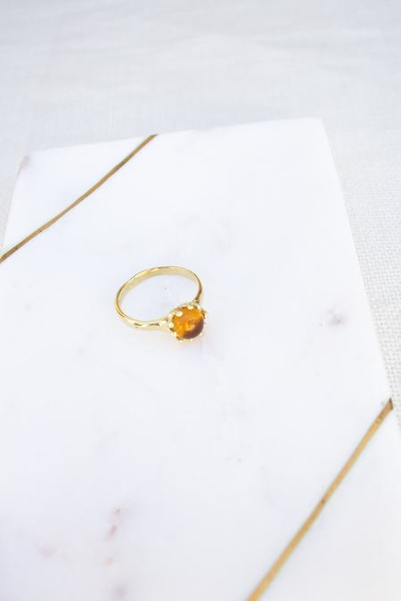 Mondo Mondo Lush Ring - Yellow