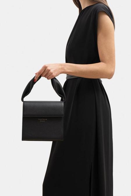 Tsatsas Rhei Top Handle Bag - Black