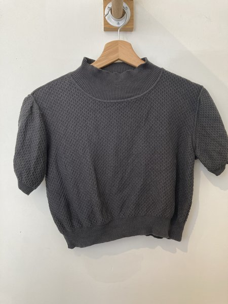 [Pre-loved] Rachel Comey Top - Charcoal Gray