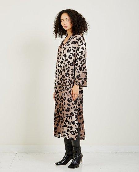 Just Female Laguna Dress - Leopard