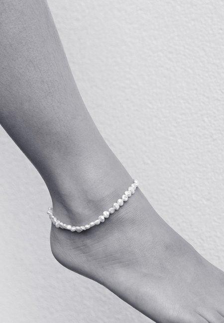 Meadowlark Baroque Anklet Midi - Silver