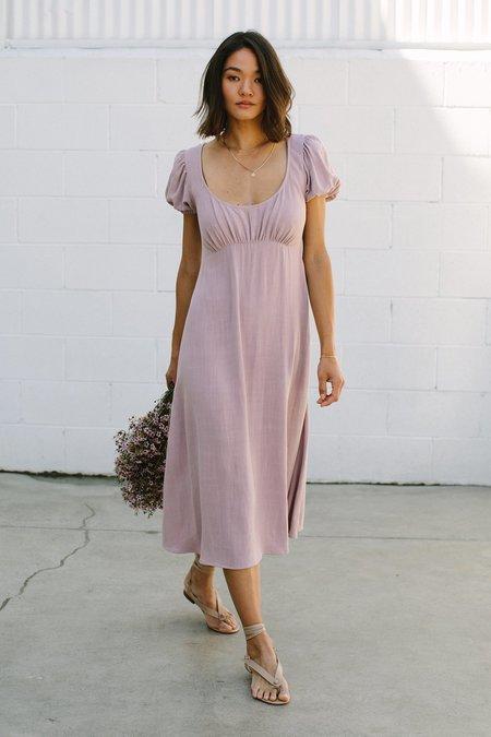 Rachel Pally Eloise Linen Dress - Fawn