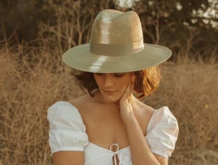 Freya Azalea Hat - Pistachio