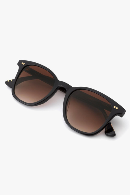 Unisex Krewe Howell sunglasses - Black/Amber