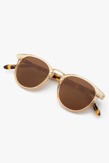 Krewe Perry sunglasses - Gold/Tortoise/Amber