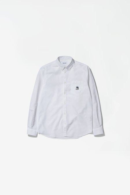Norse Projects x GM Anton Oxford Shirt - White