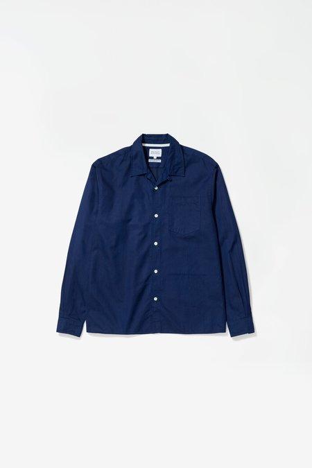 Norse Projects x GM Carsten LS Shirt - Indigo