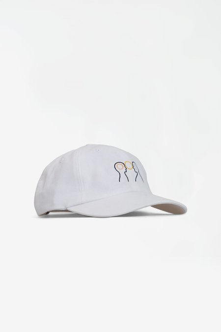 Norse Projects x Gm Head Sports Cap - White
