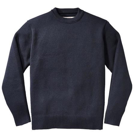 Filson Crewneck Guide Sweater - Dark Navy