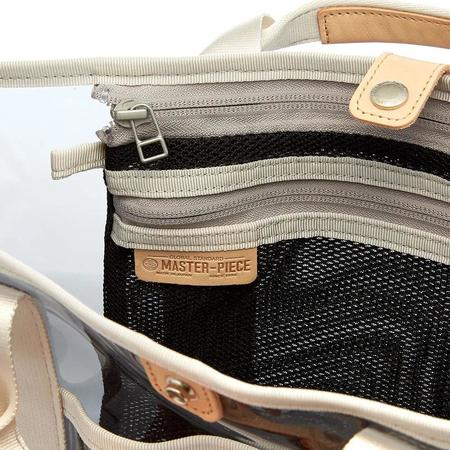 MASTER-PIECE Liquid Tote Bag - Clear