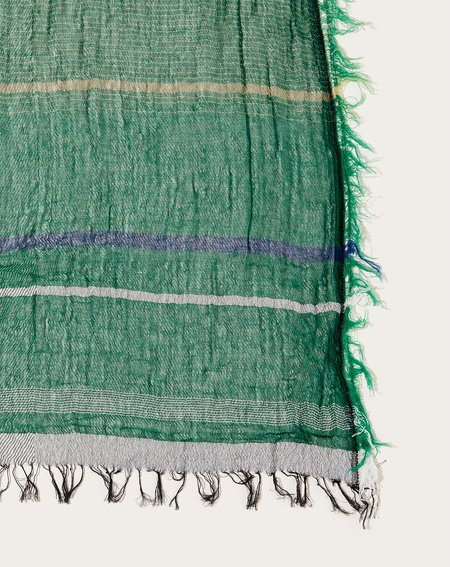 Tamaki Niime Middle Roots Shawl - Forest