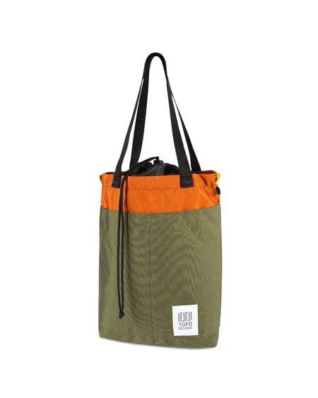 Topo Designs Bolsa Cinch Tote - Olive/Clay