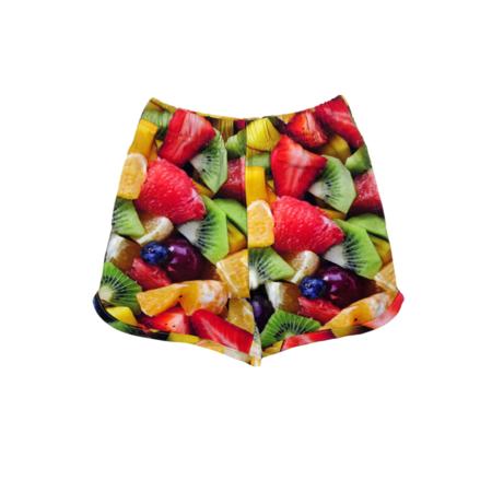 kids Romey Loves Lulu Fruit Salad Shorts - multi