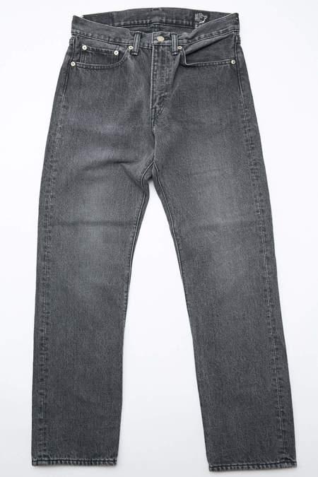 Orslow 107 Ivy Fit Slim Jean - Black Denim Stone