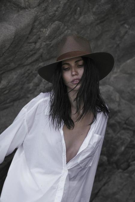 Janessa Leone Alexei Fedora - Brown
