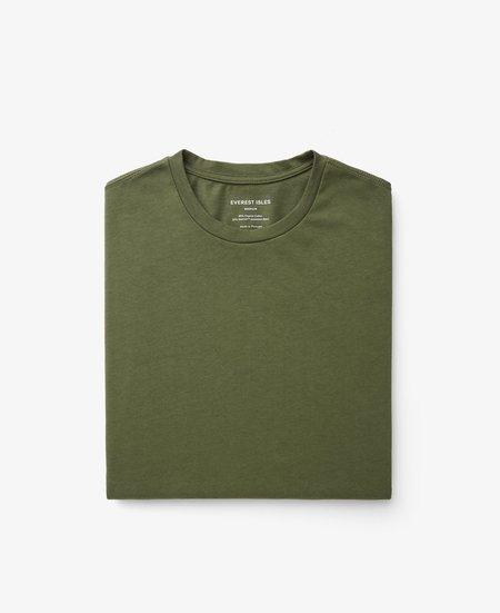Everest Isles Seaweed Short Sleeve Tee - Olive Drab