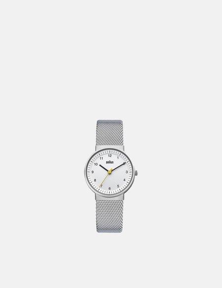 Braun BN0031 Watch - Silver/White Face
