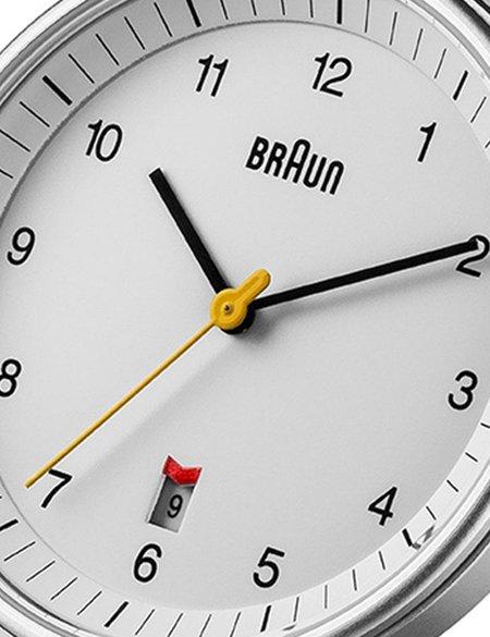 Braun BN0032 Watch - Black/White Face