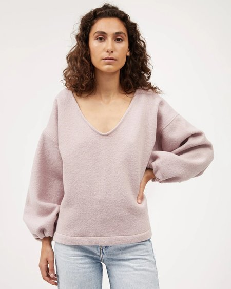 Dominique Healy Minka Jumpe SWEATER - Ballet Boiled Wool