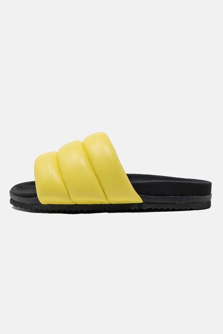 ROAM Puffy Slide Shoes - Lemon