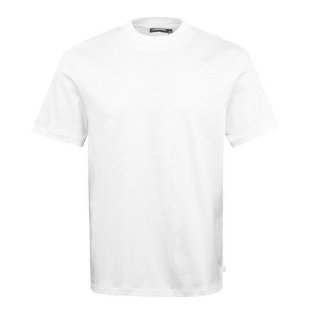 J Lindeberg Ace Mock Neck T-Shirt - White