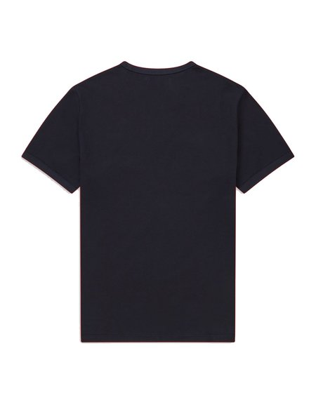 FRED PERRY Ringer M3519 TOP - Navy