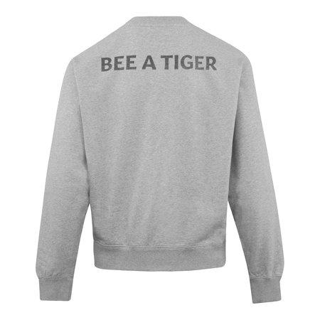 Kenzo Bee A Tiger Crewneck Sweat - Grey