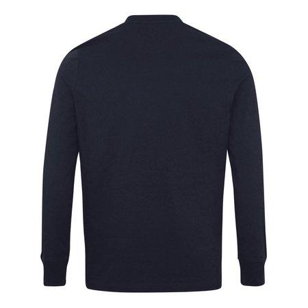 Paul Smith Zebra LS T-Shirt - Navy
