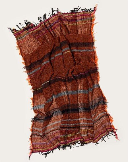 Tamaki Niime Big Roots Shawl - Copper