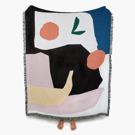 Slowdown Studio Mooney Throw Blanket - Multi