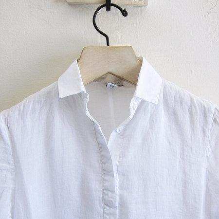 European Culture shirt dress - white