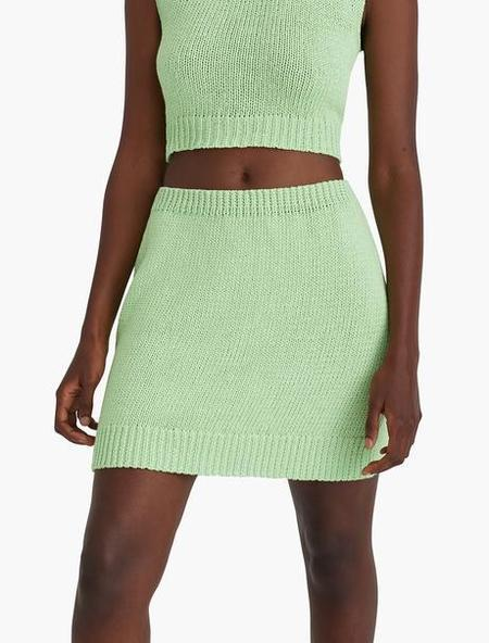 Paloma Wool Kadabra Skirt - Green Fluor