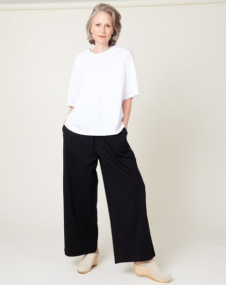 Kowtow Wide Leg Pant - Black