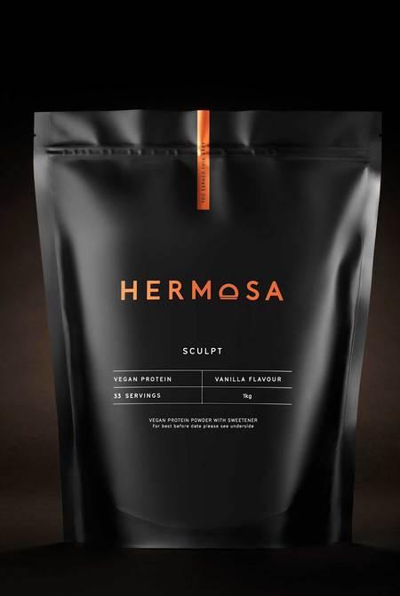 Hermosa 1kg Pouch Vanilla Vegan Protein Powder