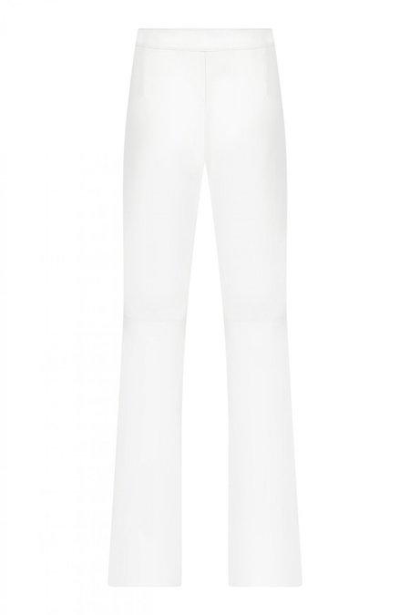 Ceren Ocak Oyster Pants - White