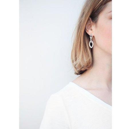 Jenny Bird Baby Sloane Earrings - Silver