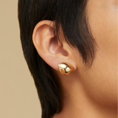 Jenny Bird Dore Lobe Huggers earrings - Gold