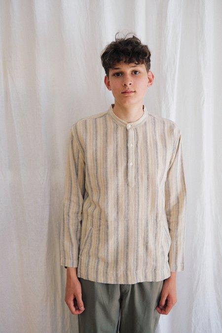 Corridor Linen Pullover - Natural