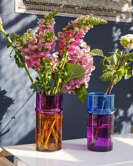 Hay Jarrón Moroccan S Vase - Orange/Pink