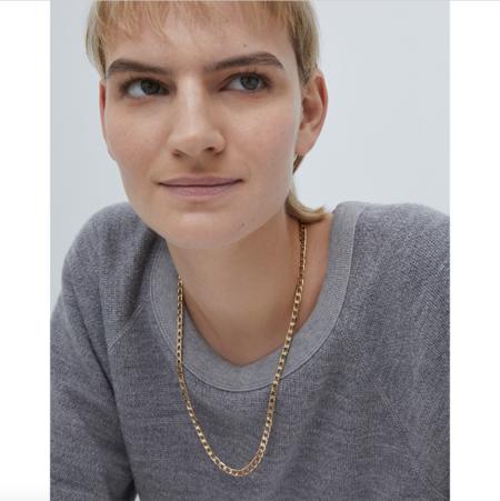 Jenny Bird The Walter necklace - 14K gold-dipped brass