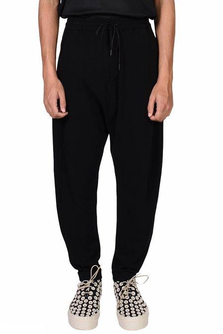 Isabel Benenato Knitted Pants - black