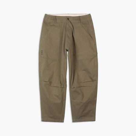 Liberaiders Herringbone Sarrouel Pants - green