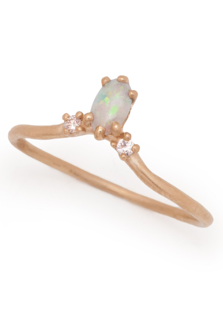 Valley Rose Carina Opal Ring