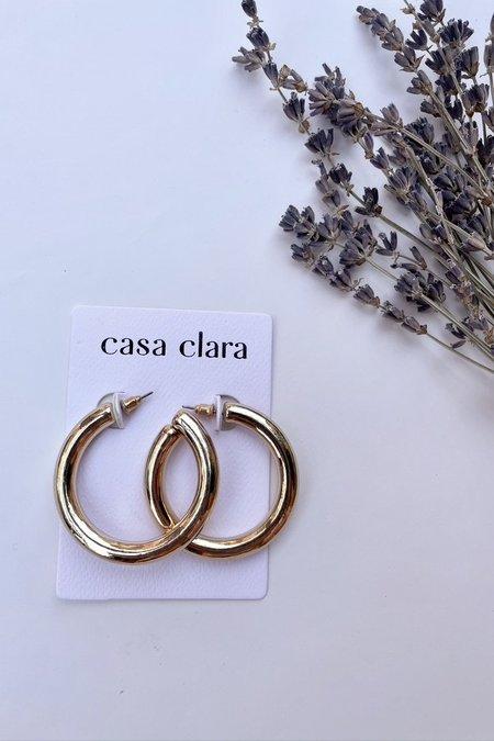 Casa Clara Nebraska Hoop - Gold