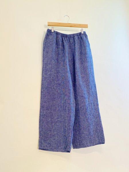 FLAX Yarn-Dyed Floods Pants