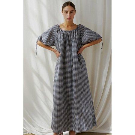 Selva Negra Suelta Dress - Plaid Linen