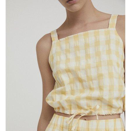 Rita Row Lula Top - Yellow Check