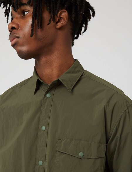 Gramicci Packable Utility Shirt - Olive Green