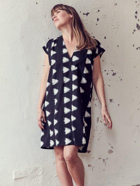 H. Fredriksson Love Dress - Black/Cream