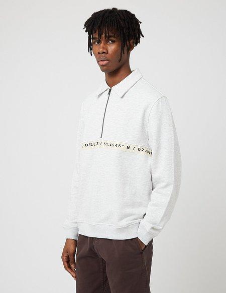 Parlez Farr Quarter Zip Sweatshirt - Grey